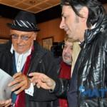 """6 geannaio 2016 - Incontro con Renzo Arbore all'Hotel Cicolellaracconti del cortile"""""""