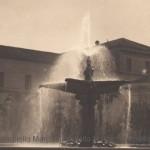 Piazza Cavour con Orfanotrofio Maria Cristina e Madonna della Croce negli anni 20 (collezione privata Marco Scarpiello)