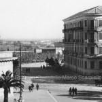 Piazza Cavour anni 20 - In lontananza si intravede la campagna oltre via Bari (collezione privata Marco Scarpiello)
