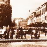 Via Lanza negli anni 20 (collezione privata Marco Scarpiello)