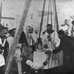 29 settembre 1934 - Posa della prima pietra per la costruzione della Chiesa di S.Michele