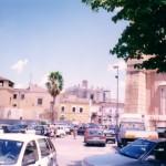 17 Luglio 2000- Cantierizzazione per la costruzione del nuovo parcheggio