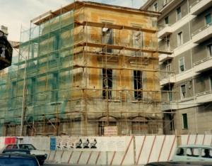 poi la demolizione nel gennaio del 1991