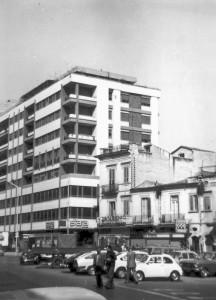 """Nel 1972 fu eretto il nuovo palazzo nei cui pianterreni riaprì il negozio """"Sala"""""""