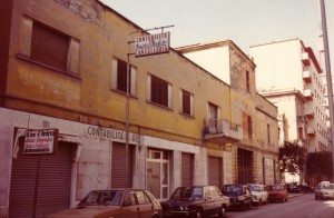 Il pastificio negli anni 80 visto da via Isonzo