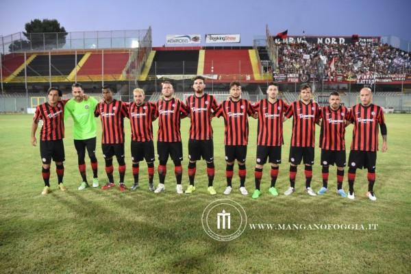 Il Foggia schierato per il suo primo impegno stagionale 2016/17