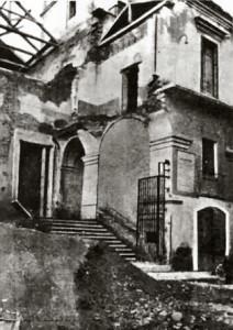 Il convento di San Gaetano, distrutto dai bombardamenti, fu la prima sede del Conservatorio