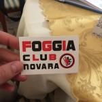 Foggia club Novara
