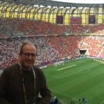 A Varsavia durante gli Europei del 2012