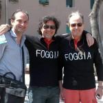 Con i giornalisti Foggiani Davide Grittani e Michelangelo Borrillo