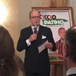 Alla presentazione del libro dedicato a Ciccio Patino, calciatore del Foggia degli anni sessanta