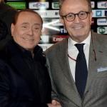 Franco Ordine con Silvio Berlusconi