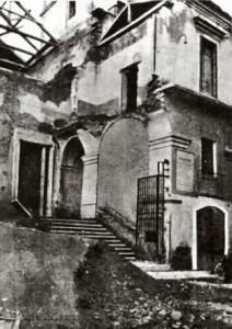 Ex convento di S.Gaetano, già sede del Museo civico distrutto dai bombardamenti