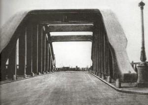 Cavalcavia per Manfredonia prima della guerra