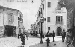 La vecchia sede del Banco di Napoli