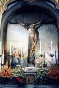 Il crocifisso di Pietro Frasa