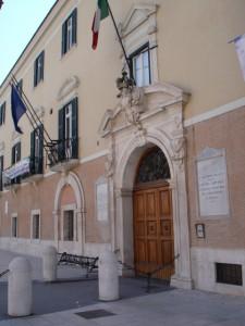 Ingresso nuovo palazzo Dogana