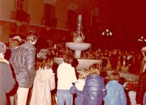 Inaugurazione della fontana - 5 dicembre 1982