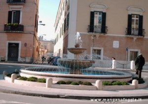 La fontana oggi