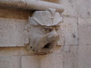 Particolare del Palazzo De Nisi