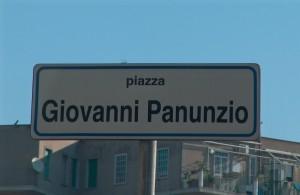 La piazza dedicata a Giovanni Panunzio