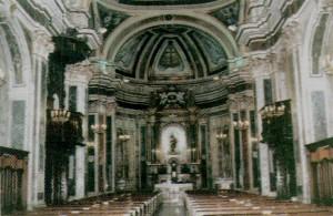 Interno della Chiesa di S.Giovanni Battista