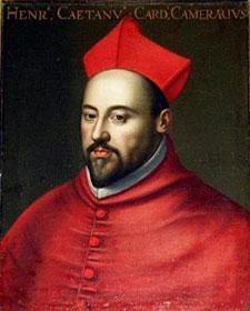 Il cardinale Enrico Caetani