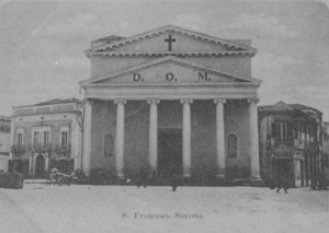 La Chiesa di S. Francesco Saverio nei primi del 900