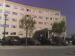Plesso nuovo all'interno degli Ospedali Riuniti