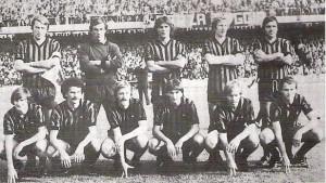 1977/78 In piedi: Pirazzini Memo Gentile Bordon Colla accosciati: Bergamaschi Sali Del Neri Iorio Scala Nicoli
