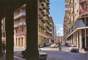 Via Dante (già via dell'Impero) negli anni 70