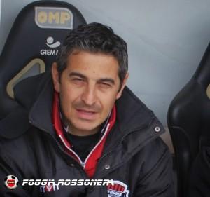 Pasquale Padalino - allenatore acd Foggia Calcio