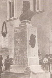 Il busto di Saverio Altamura
