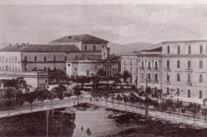 Gli stabilimenti Rocco La Capria in viale Ferrovia nei primi anni del 900