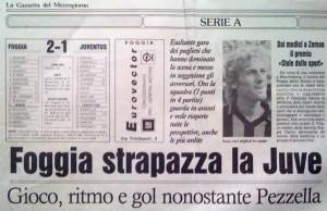 La vittoria sulla Juventus