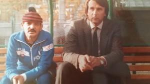 Rossetti con il capitano di tutti i tempi Gianni Pirazzini (foto di Pirazzini)